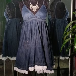 Dollhouse Denim Dress